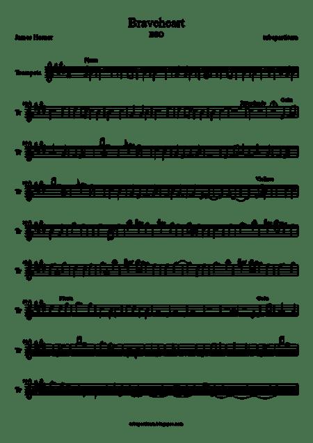 Braveheart Bso Trompeta-1